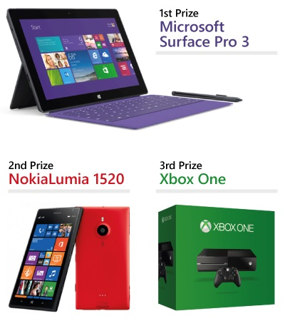 Microsoft Surface Pro - Nokia Lumia 920 - Xbox 360 with Kinect